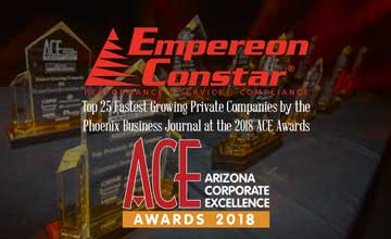 Empereon-Constar Named One of Arizona's Fastest Growing and Largest Private Companies
